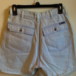 Denim vintage shorts